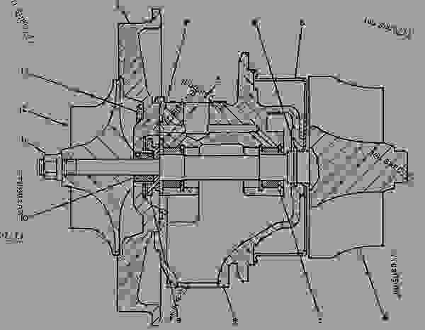 3406b Caterpillar Fuel Transfer Pump, 3406b, Free Engine