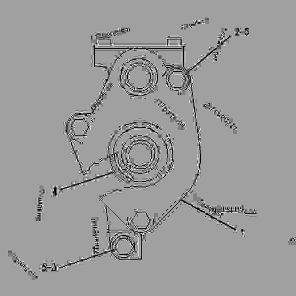 Caterpillar 3406b Fuel Pump Diagram, Caterpillar, Free