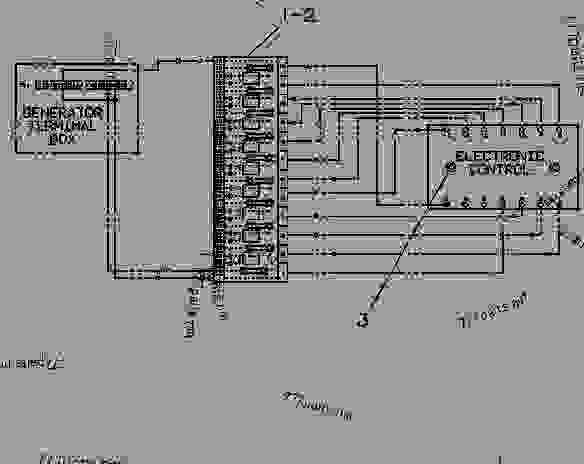 caterpillar 3406b electronic diagram
