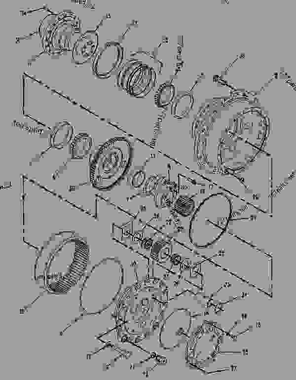 Caterpillar Wiring Diagrams 2y2970 Diagram Excavator