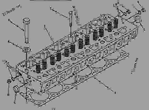 3406b Cat Engine Head. Diagrams. Wiring Diagram Images