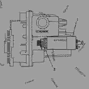 7C4028 SOLENOID GROUPSHUTOFF  ENGINE  GENERATOR SET
