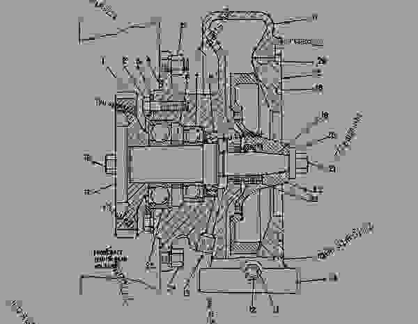 4N7498 PUMP GROUP-WATER PUMP GP-WATER (4N1951 N/S