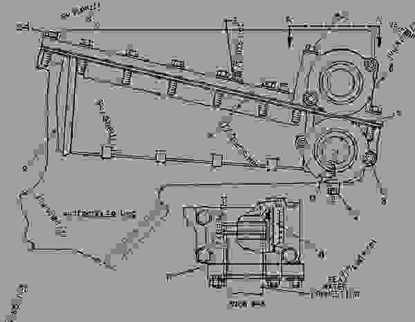 3208 Cat Engine Pulley Diagram