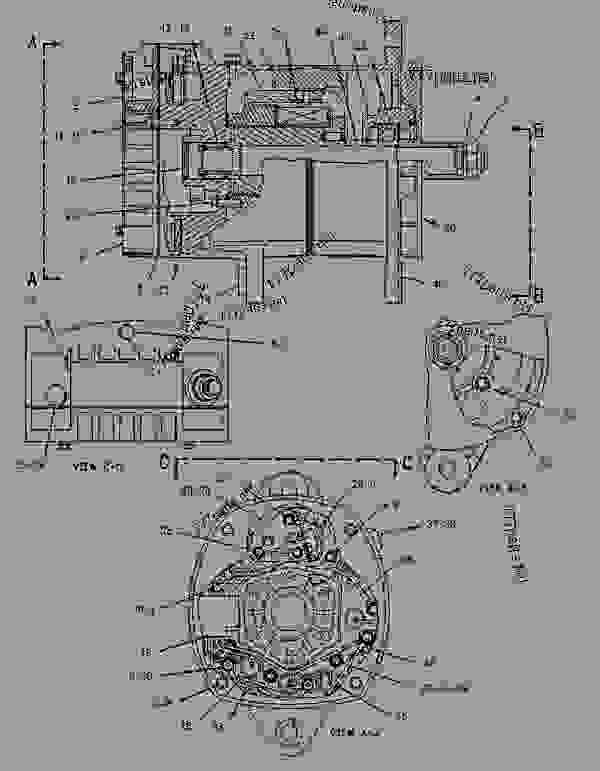 delco remy alternator diagram garage door wiring 3e7578 group-charging charging group (delco remy) - track-type tractor ...