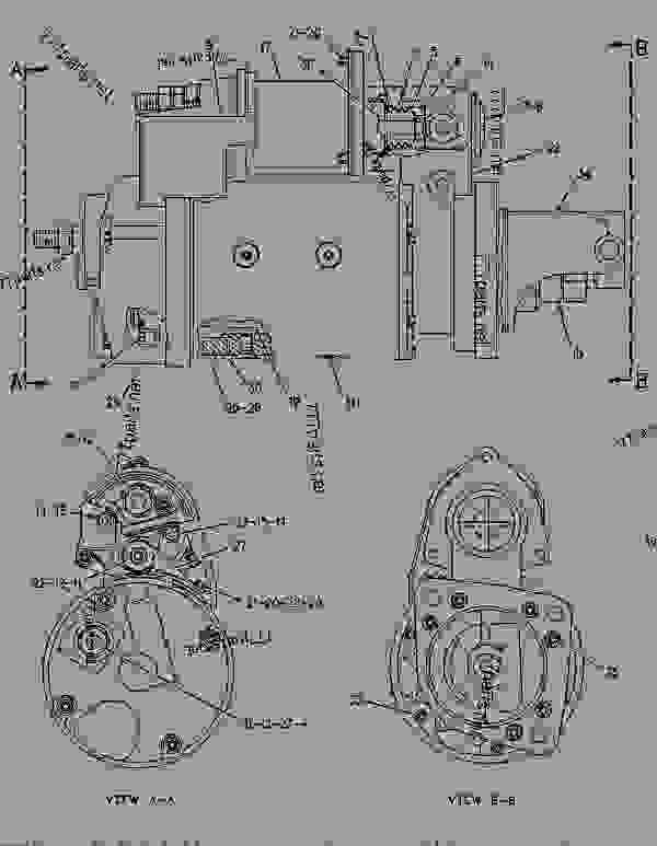 Caterpillar 3126 Marine Engine Parts Manual