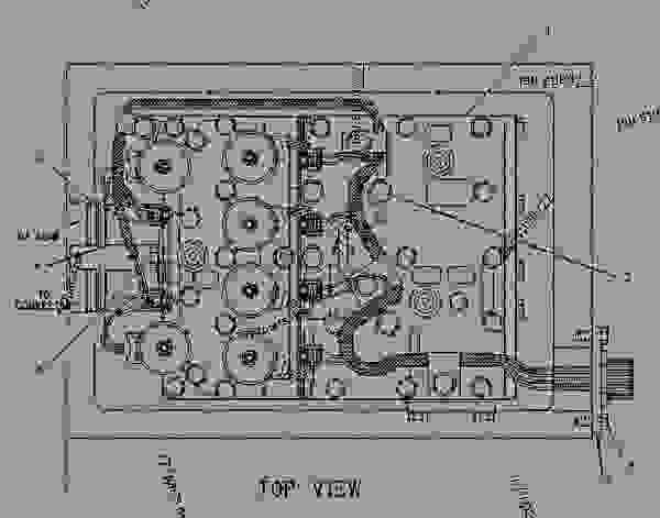 6I9853 CONTROL GROUP-TRANSMISSION HYD TRANSMISSION