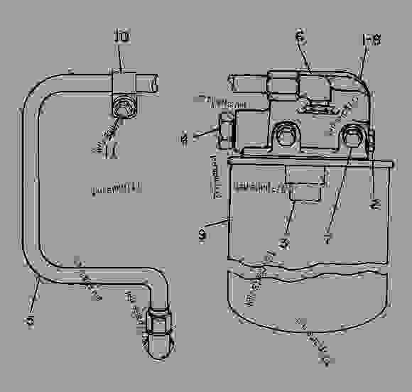 C6 Caterpillar Fuel System 4, C6, Free Engine Image For