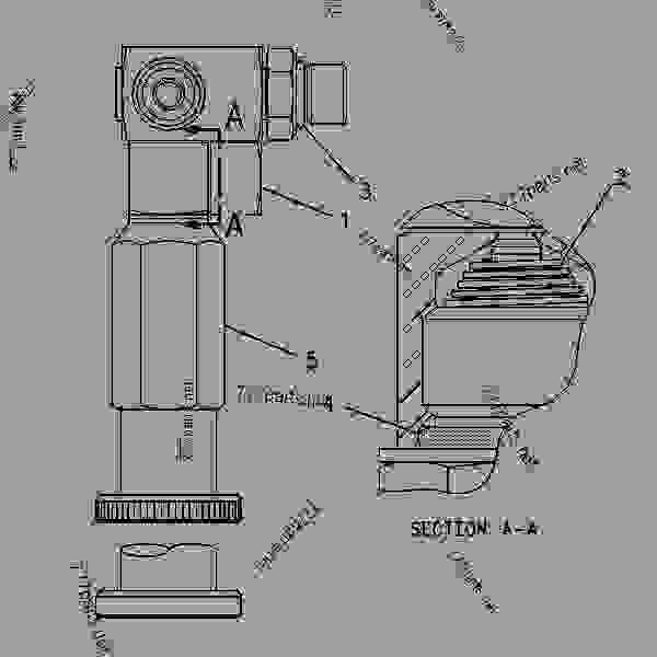 Caterpillar Injector Pump Diagram, Caterpillar, Free