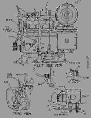 1248680 FASTENER GROUPWIRING HARNESS  ENGINE  GENERATOR