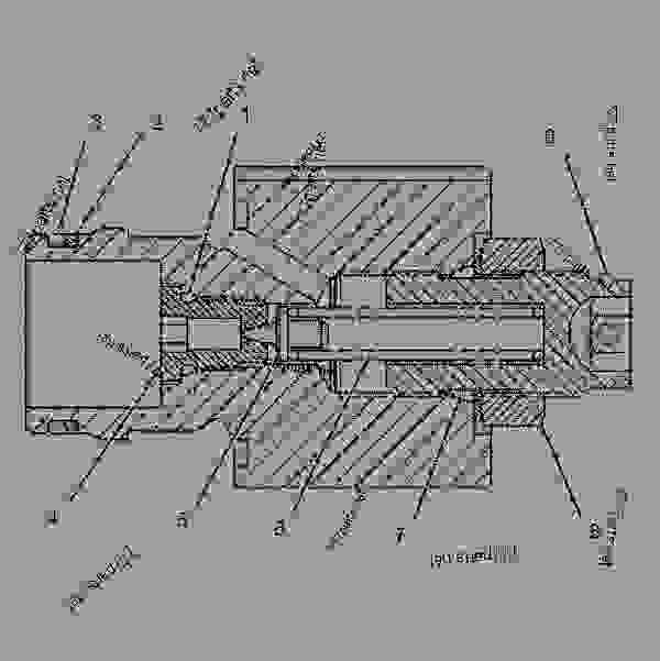 9T4816 VALVE GROUP-PUMP CONTROL (PRESSURE, FLOW