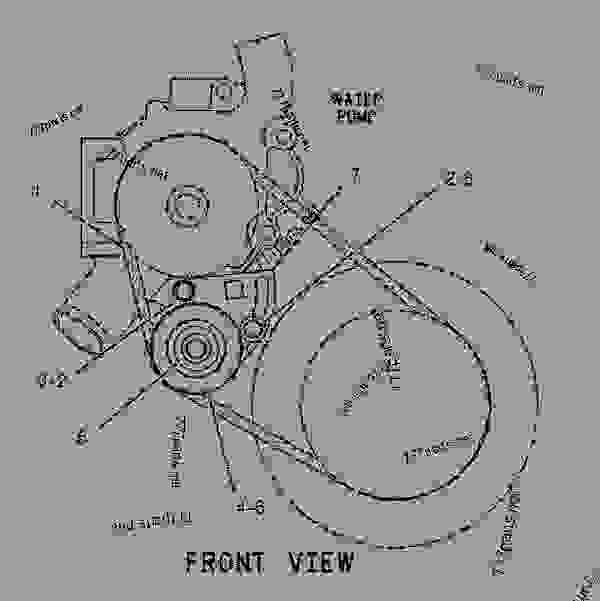 caterpillar engine diagram