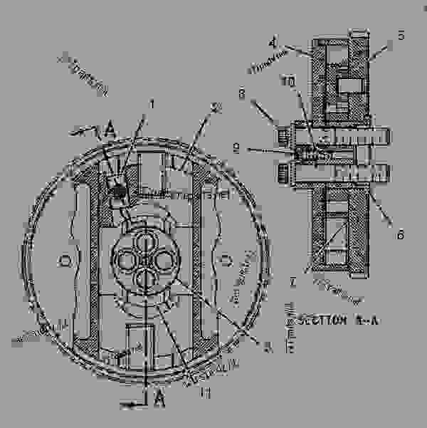 parts manual on caterpillar turbocharger in engine diagram
