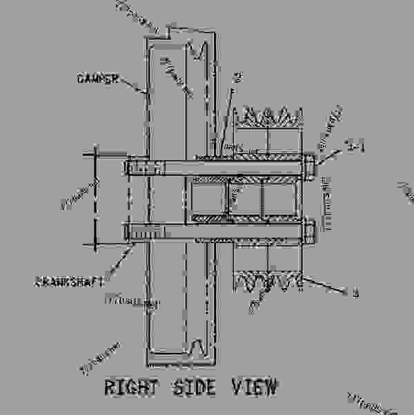 Cat C13 Belt Routing Diagram