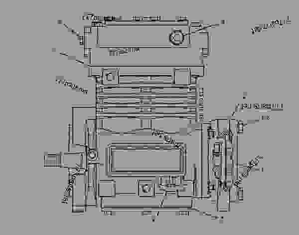 Semi Truck Engine Diagram Air Compressor. Engine. Auto