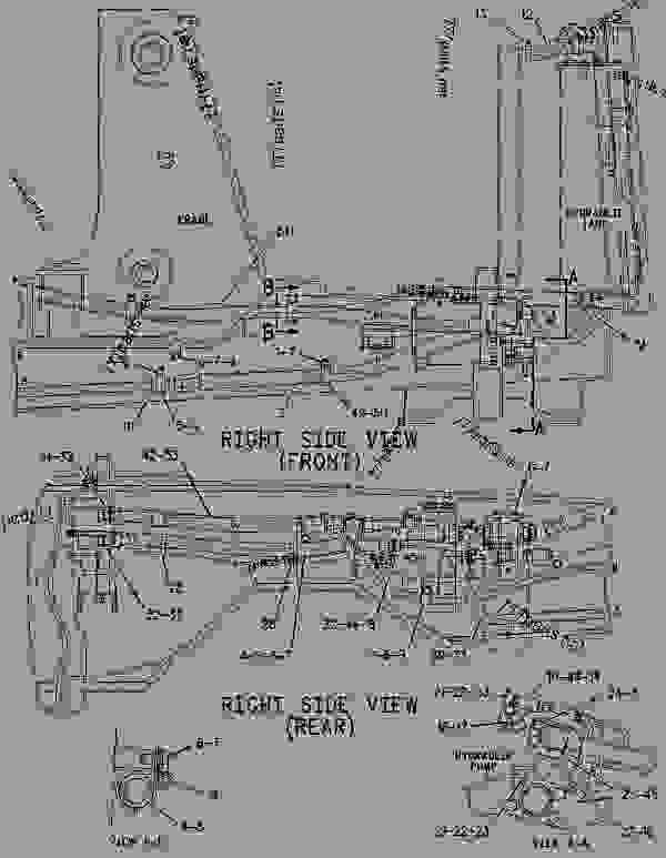 wiring diagram for caterpillar 416 backhoe
