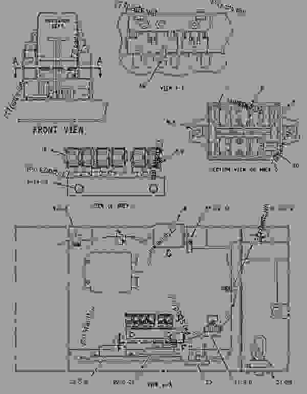 wiring diagram for link belt 2800q excavator