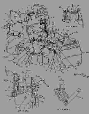 1938374 COVER GROUPFUSE PANEL  SKID STEER LOADER Caterpillar 216  216 226 228 Skid Steer
