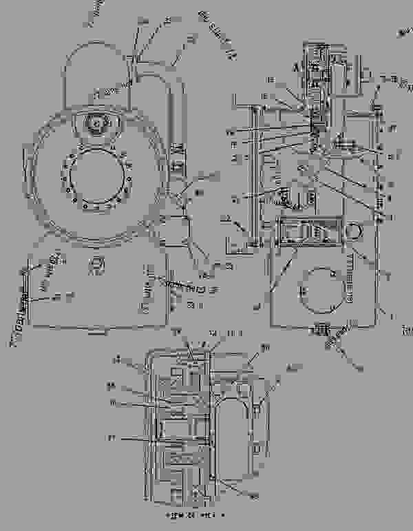 Caterpillar 3304 Engine Block Heater Parts Diagram For A