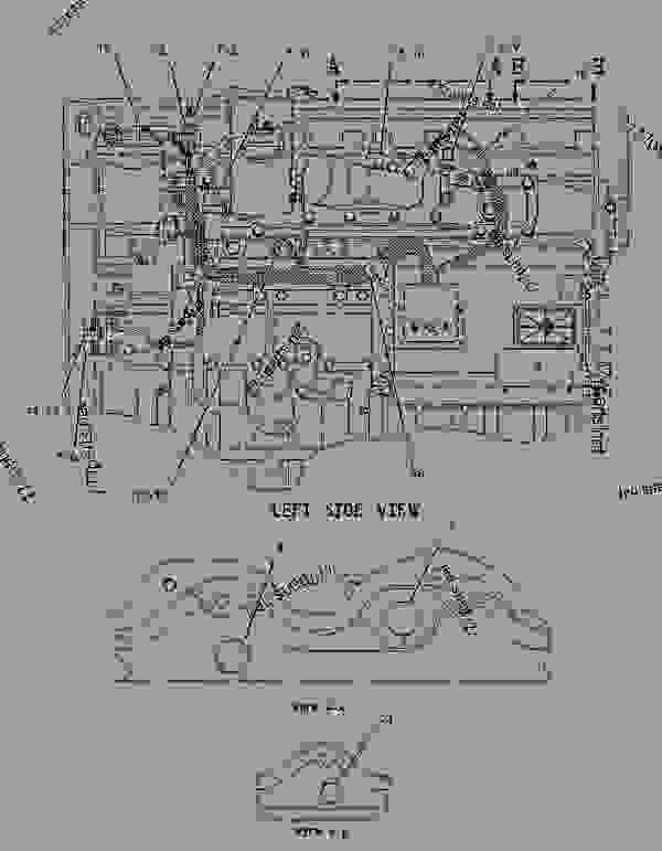 3126 Caterpillar Engine Lubrication Diagram C15 ECM