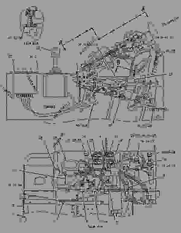3406b Cat Fuel Pump Diagram Parts Breakdown, 3406b, Free