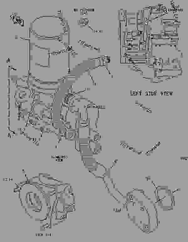 Wiring Diagram: 34 Cat 3126 Parts Diagram