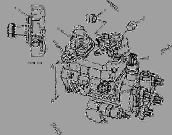 Doosan Fuel Injection Pump, Doosan, Free Engine Image For