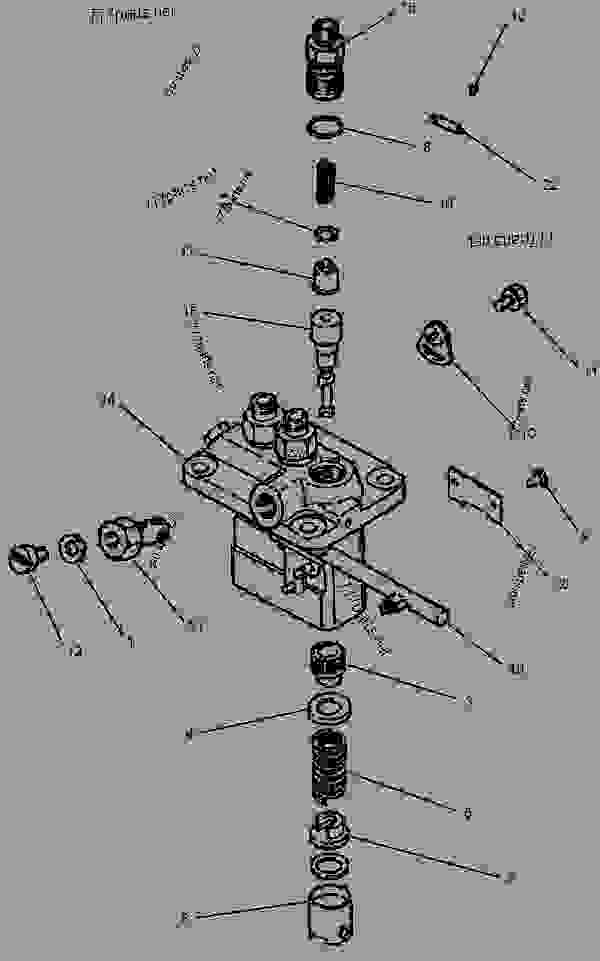 Caterpillar 303cr parts manual