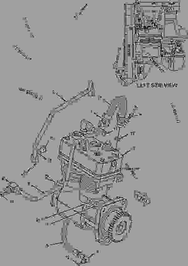Cat C7 Acert Engine Fuel Pump Diagram Additionally