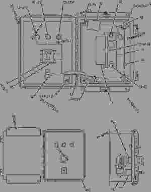 2484905 WIRING GROUPPANEL VR6 VOLTAGE REGULATOR  ENGINE  INDUSTRIAL Caterpillar G3412