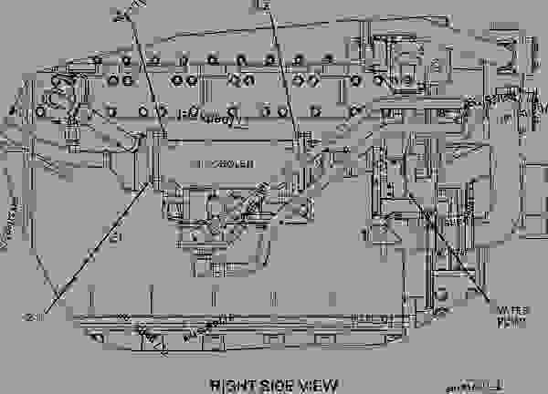 Caterpillar C12 Marine Engine Diagram Volvo Truck Engine