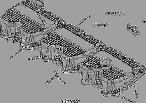 C15 Caterpillar Engine Crankcase Diagrams