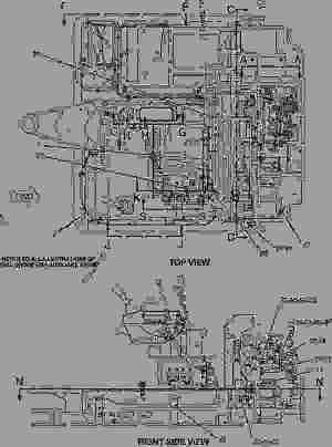 1585723 BATTERY & WIRING GROUP  MINI HYDRAULIC EXCAVATOR Caterpillar 3035  3035 Mini