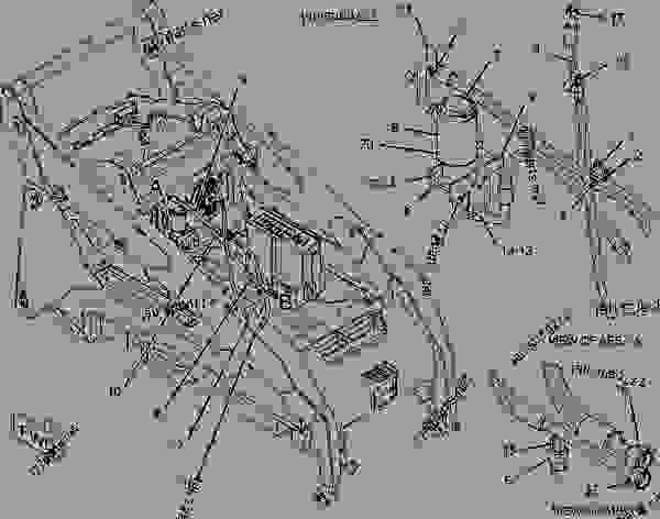 Caterpillar 252b Wiring Diagram Caterpillar 277B ~ Elsavadorla