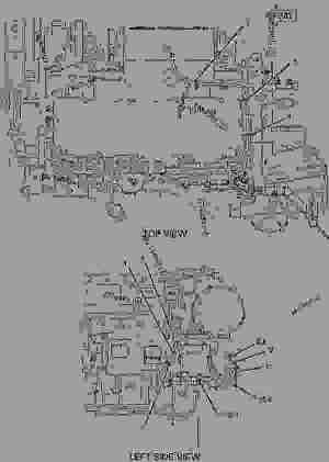2783394 WIRING GROUPENGINE ALTERNATOR CIRCUIT BREAKER  ENGINE  MARINE Caterpillar C9  C9