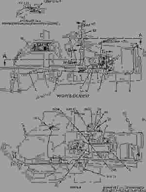 9R7590 BATTERY & WIRING GROUP  BACKHOE LOADER Caterpillar 416B  416B Backhoe Loader 8SG00001