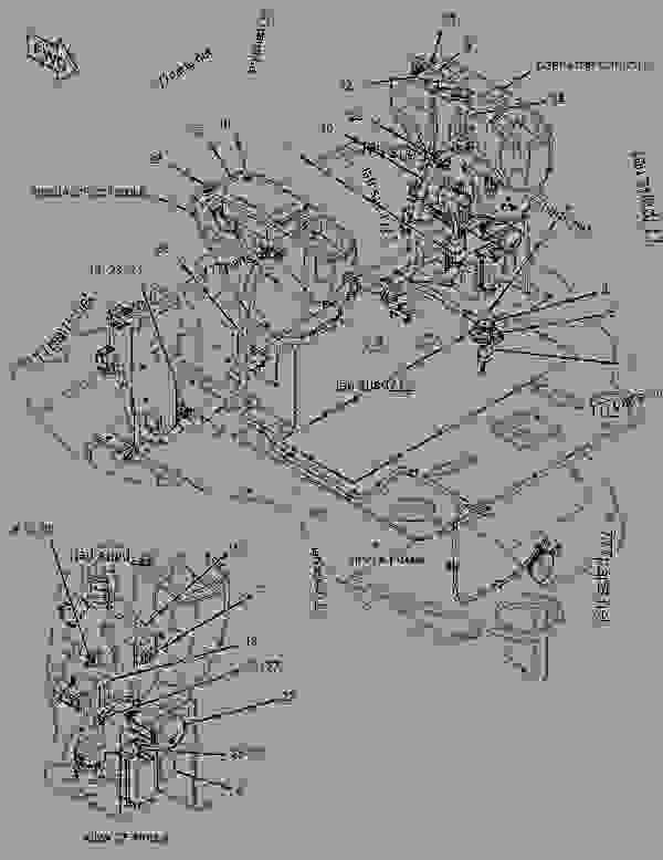 Caterpillar Radio Wiring Harness Caterpillar Radiator