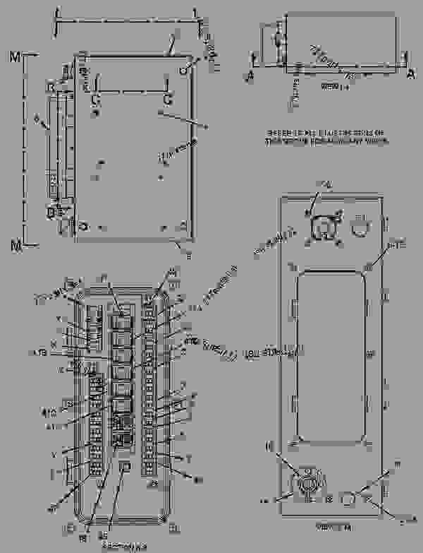 Caterpillar 320 Excavator Wiring Diagram