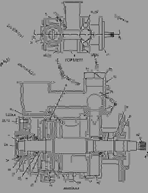 C15 Caterpillar Engine Parts Diagrams, C15, Free Engine