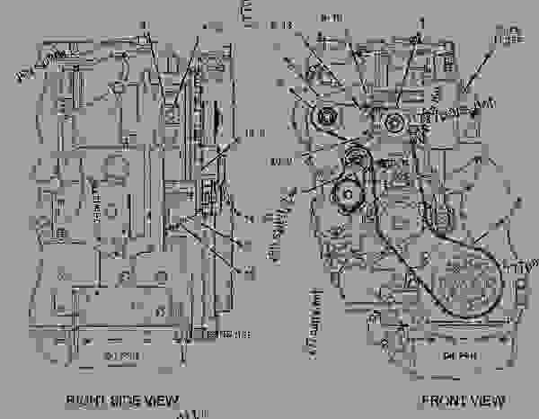 C9 Cat Engine Belt. Engine. Wiring Diagram Images