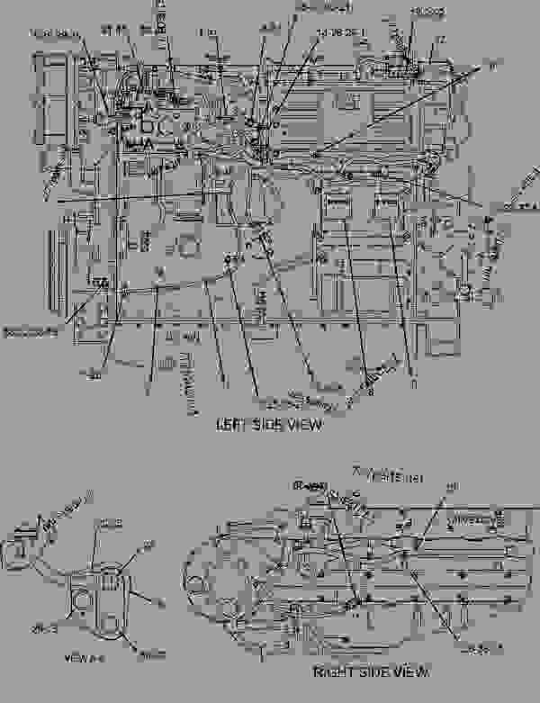 Caterpillar C12 Marine Engine Diagram Cat C12 Fuel System