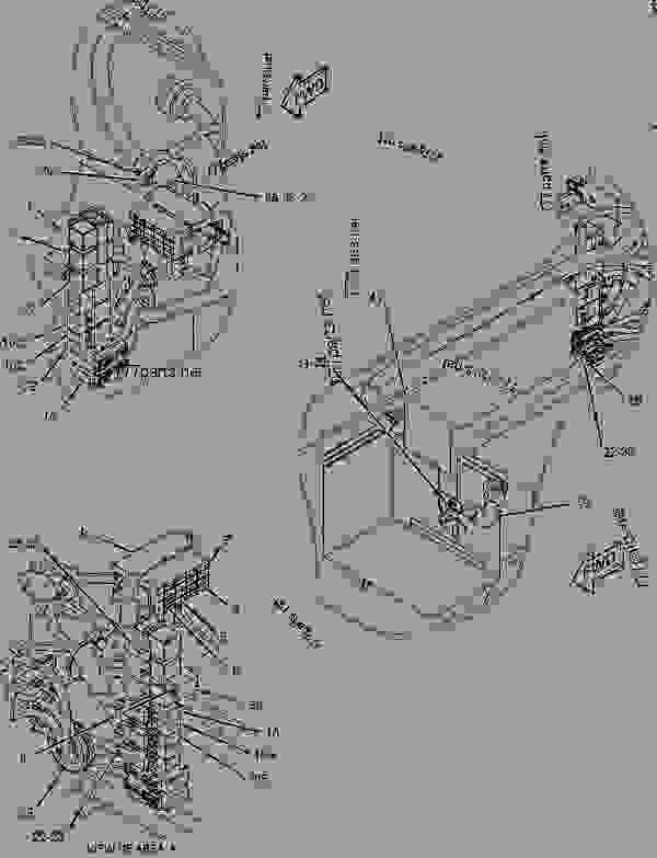 Cat 301.8 Parts Manual