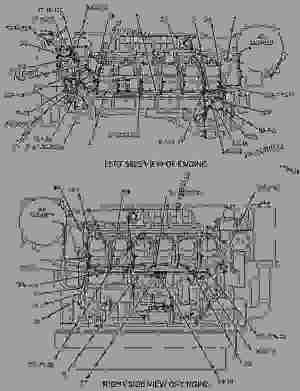 1340071 WIRING GROUPENGINE  ENGINE  MARINE Caterpillar