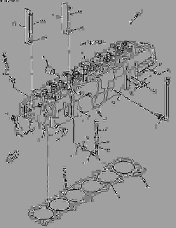 Cat 3406 Engine Parts Cooling System Diagram 3406 Cat
