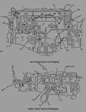 1916587 SENSOR GROUPTEMPERATURE HIGH PRESSURE OIL