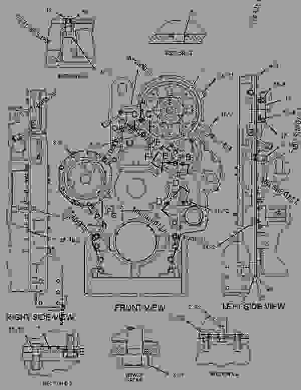 cat 3046 engine diagram
