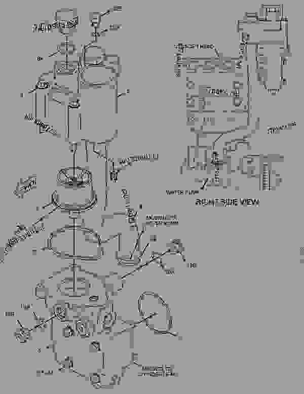 cat c11 belt diagram