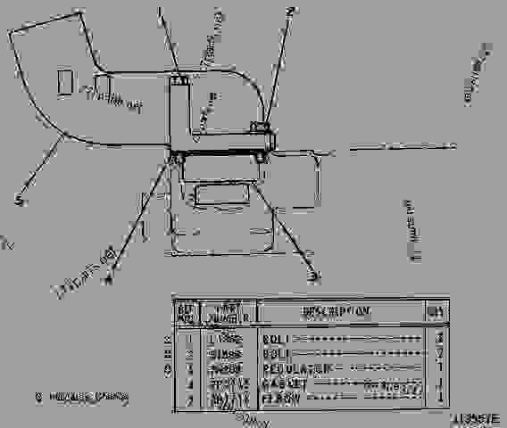 2P8163 HOUSING & REGULATOR GROUP HOUSING AND REGULATOR