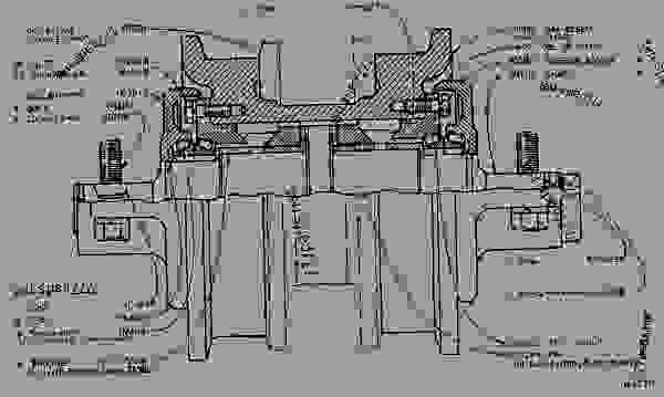 7K8572 ROLLER GROUP-TRACK SINGLE FLANGE TRACK ROLLER GROUP