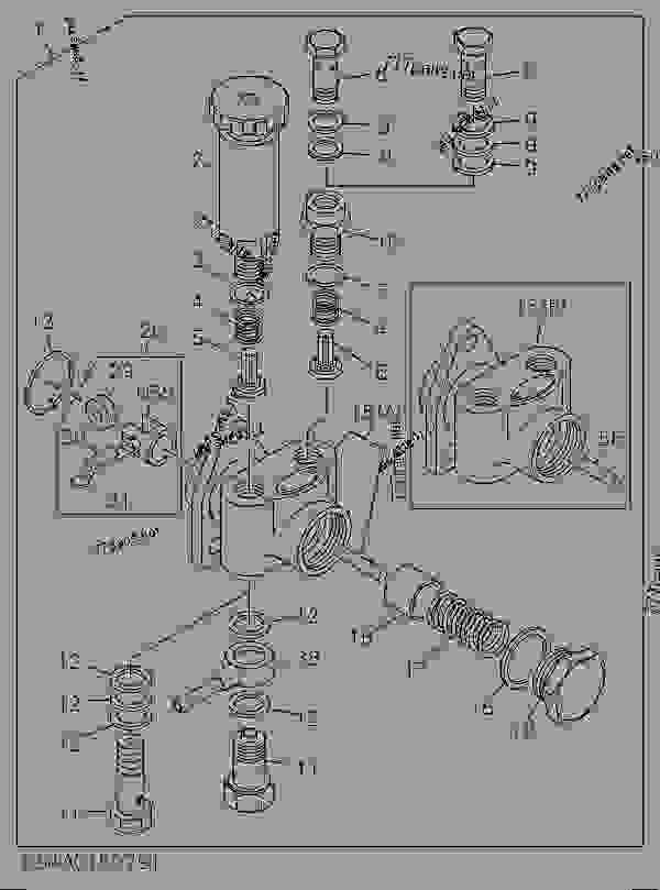 E Model Caterpillar Engine Diagram Cat 416C Hydraulic